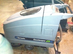 Mark's Vacuum, Tornado 20 in Auto Scrubber New Batteries $2,500.00