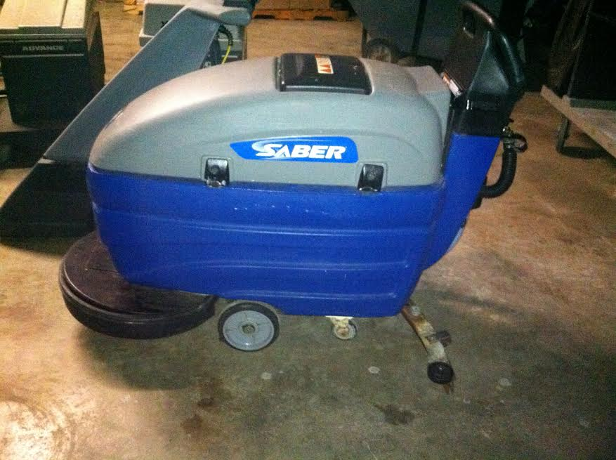 Mark's Vacuum Reconditioned Windsor Saber automatic Floor Scrubber, Indianapolis, Indiana