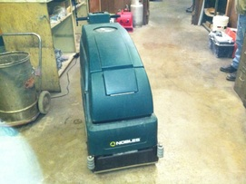 Mark's Vacuum, Nobles 20 in Carpet Cleaner New Batteries $2,999.00