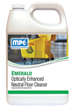 A totally synthetic floor cleaner designed for daily use in any floor maintenance program. It's slightly acidic pH will not damage the gloss or film of any finish and is effective at neutralizing harsh cleaner residue on the floor. Contains optical brighteners to enhance the beauty of the floor when it dries. Controlled foam makes this product ideal for use in automatic scrubbers. Will dissolve all ice melt and hard water films, and will never leave the floor with a soap haze.