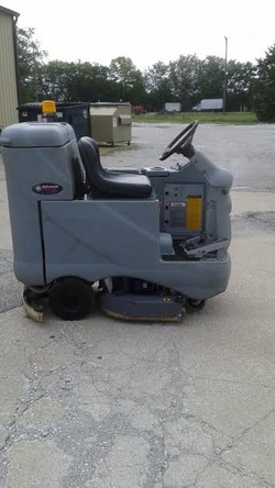Mark's Vacuum Sells and Maintains Rider Floor Scrubbers