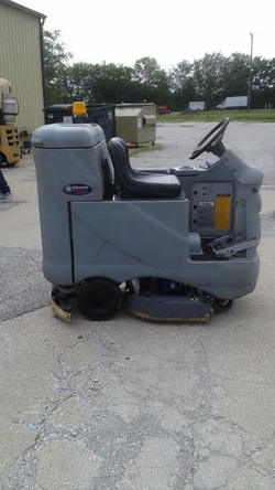 Mark's Vacuum Sells and Maintains Rider Floor Scrubbers in Indianapolis, Indiana