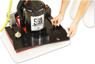 Mark's vacuum Has Square Scrub machines and dust control accessories in Indianapolis, Indiana