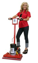 Mark's Vacuum has square scrub machines and dust control accessories in greenwood, Indiana